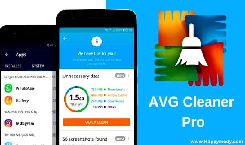 avg cleaner pro apk full version download
