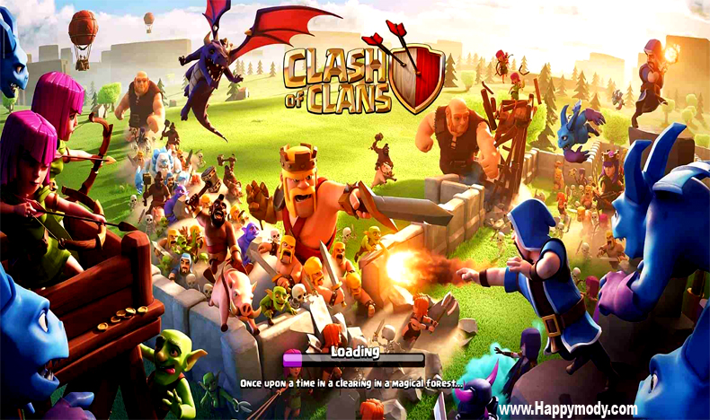 Clash of Clans Mod APK v13.0.28 Download Unlimited Everything