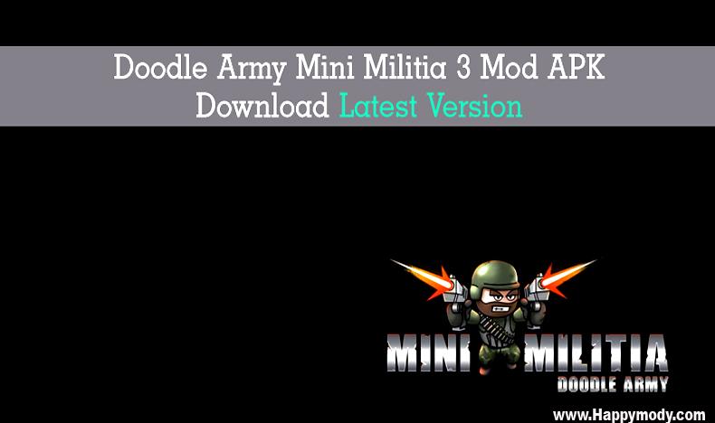Doodle Army Mini Militia 2 Mod APK