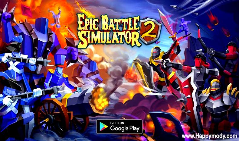 Epic Battle Simulator 2 Mod Apk