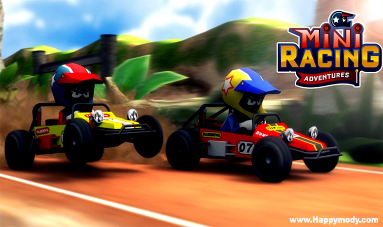 Mini Racing Adventures Mod Apk v1.21.7 Unlimited Money