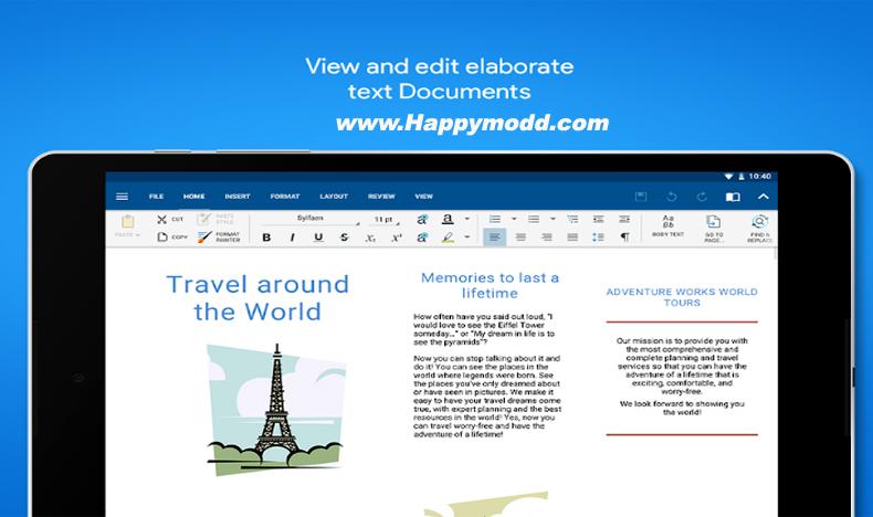 OfficeSuite 10 Pro + PDF Premium Apk