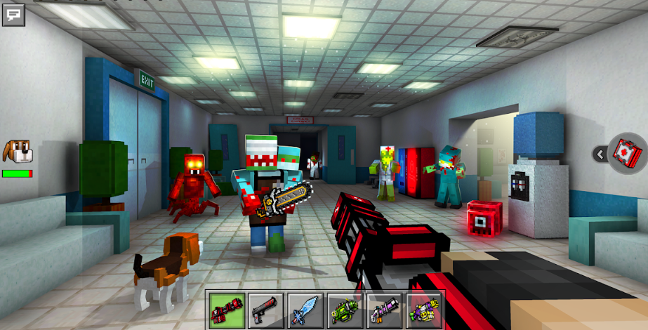 Pixel Gun 3D Pocket Edition APK