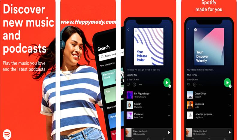 Spotify Premium Mod Apk