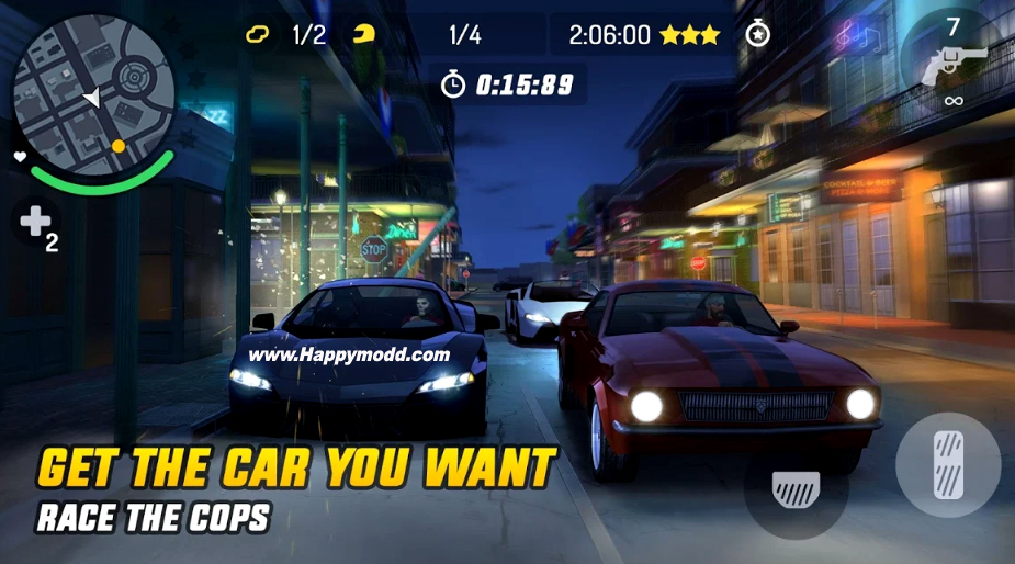 Gangstar New Orleans Open World Apk