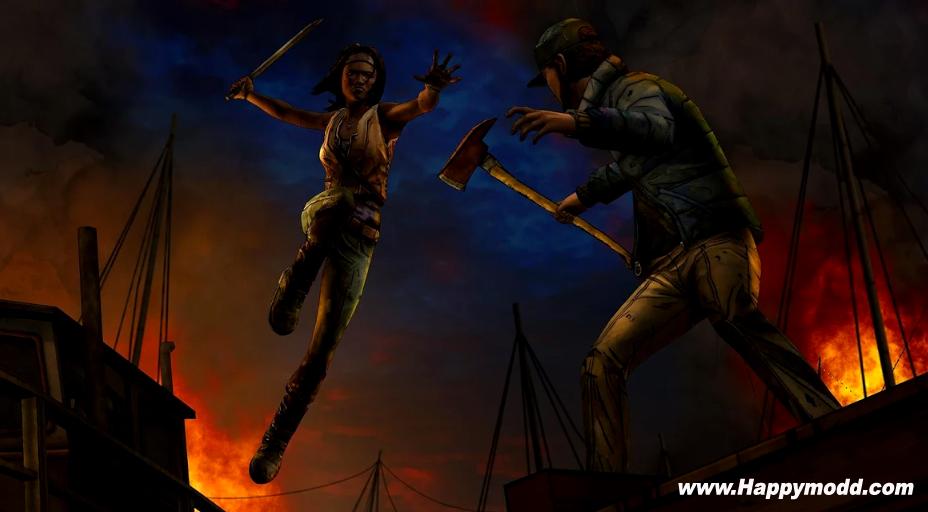 The Walking Dead Michonne Mod Apk
