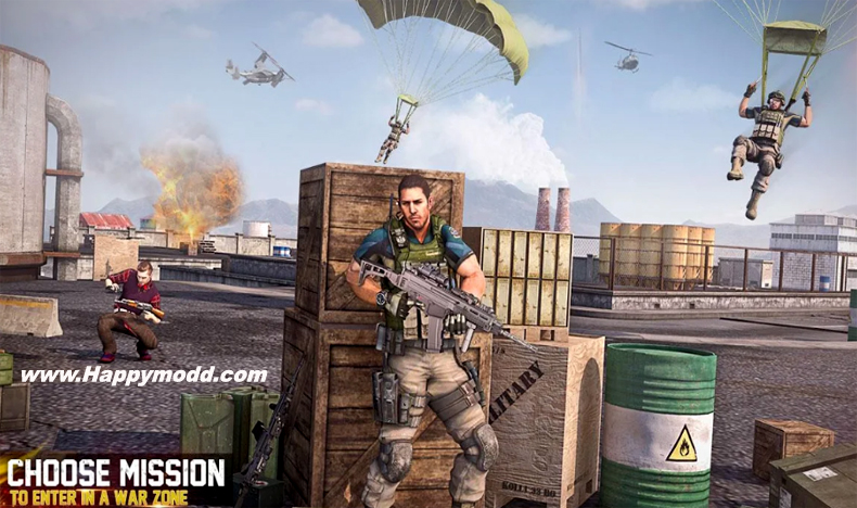 FPS Encounter Shooting 2020 New Shooting Game Mod Apk