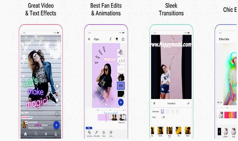 Funimate Video Editor & Music Clip Star Effects Mod Apk
