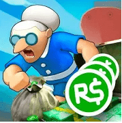 Idle Granny — Win Robux for Roblox platform Mod Apk