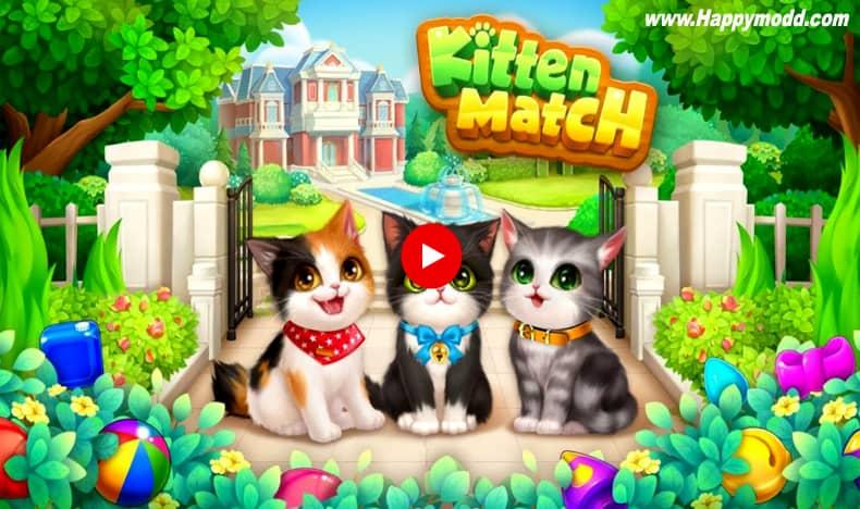 Kitten Match Mod Apk