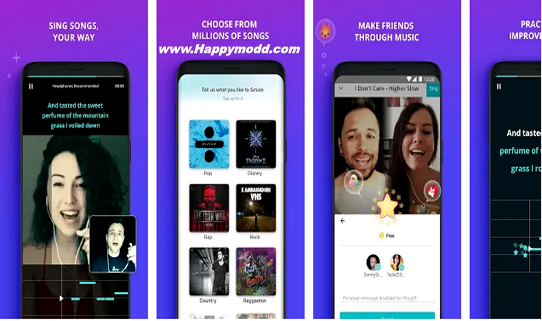 Smule – The Social Singing App Mod Apk