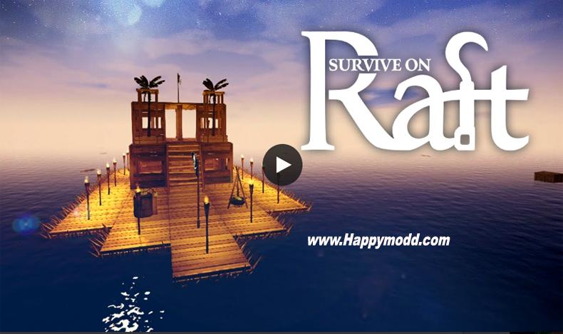 Survival ON Raft Crafting in The Ocean Mod Apk