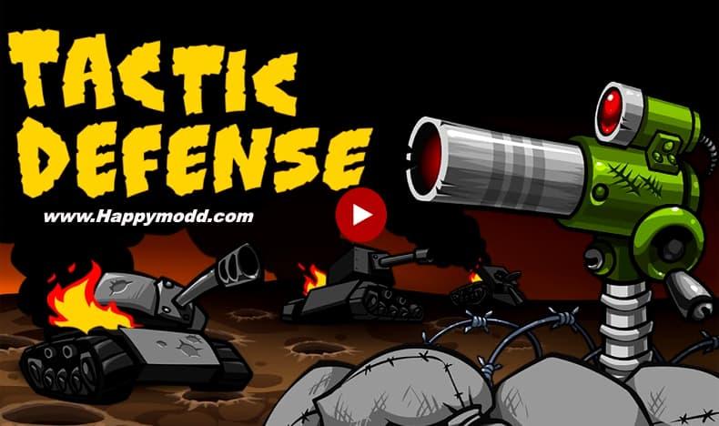 Tactical War Tower Defense Game Mod Apk