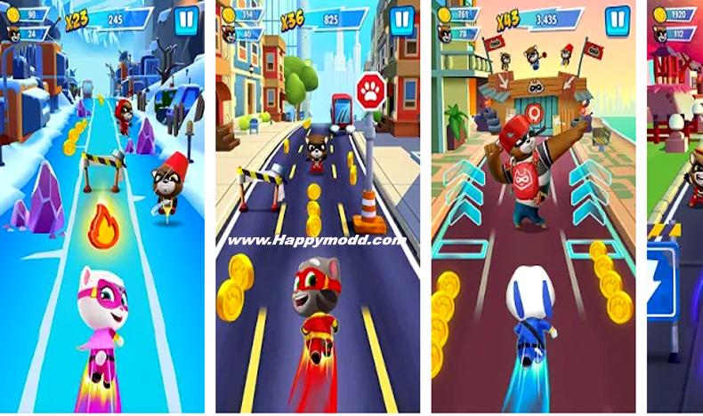 Talking Tom: Hero Dash Run Game Mod Apk + Download