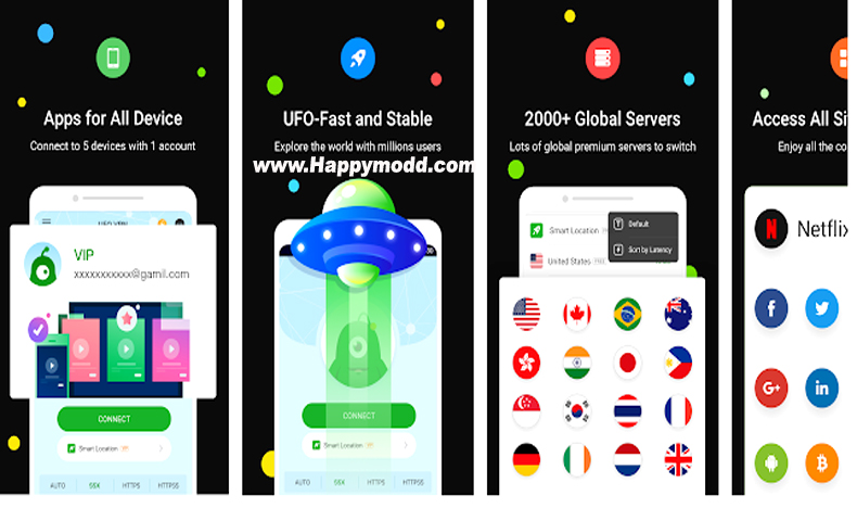 UFO VPN – FAST PROXY Unlimited & Super VPN Master Mod Apk