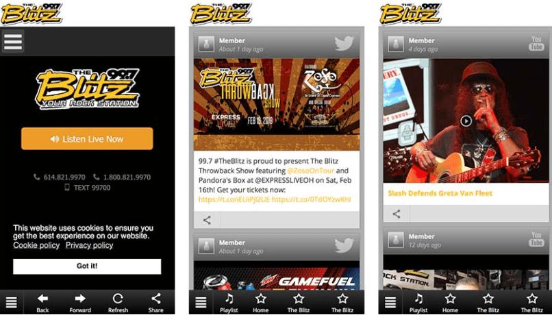 Local radio apps